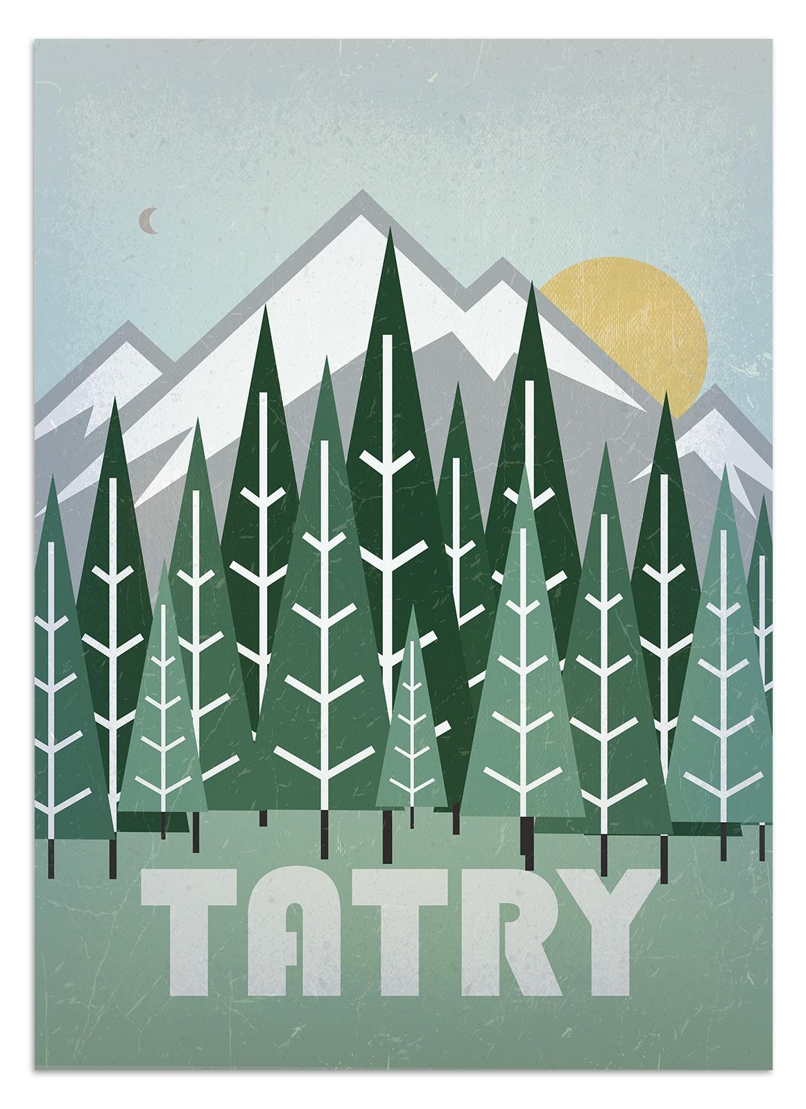 Plakat Tatry 2