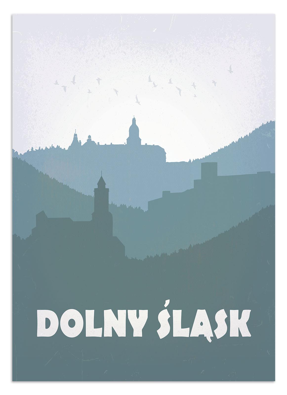 Plakat Dolny śląsk