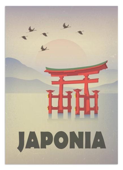 Plakat Japonia