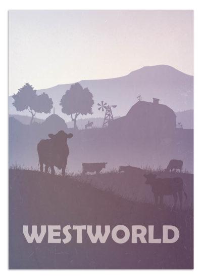 Dziki zachód - kowboje, wypas bydła