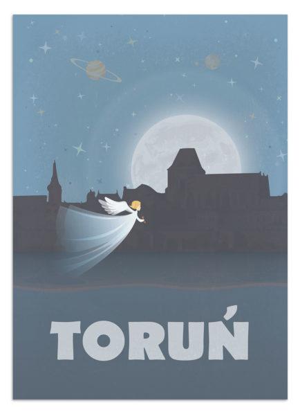 Plakat vintage - Toruń