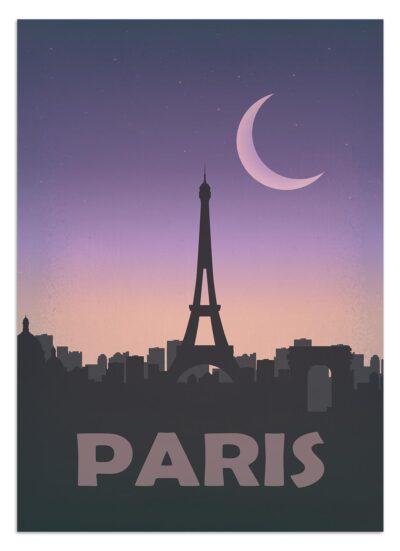 Plakaty podróżnicze - Paryż