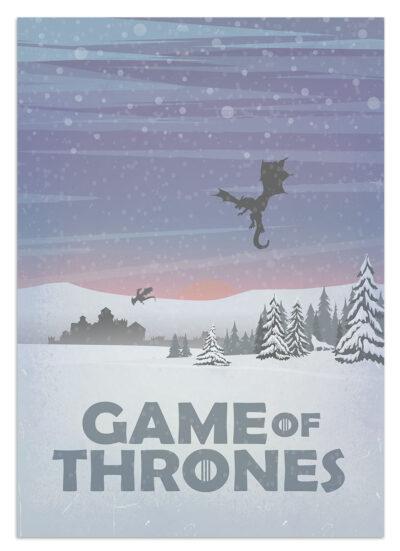 Winterfell - plakat serialowy
