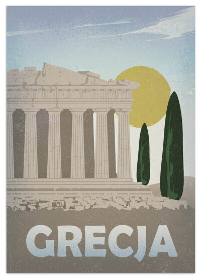 Plakat Grecja