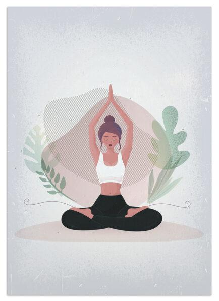 Prezent dla dziewczyny uprawiającej jogę