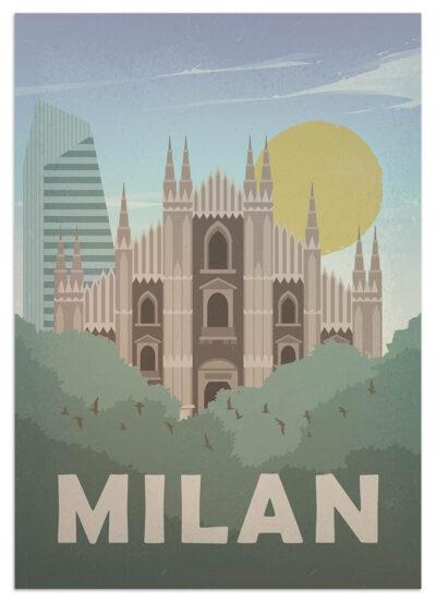 Miasto Medional na plakacie
